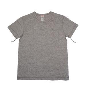 HEALTHKNIT / ヘルスニット 949 VINTAGE HEATHER SLAB 半袖 ポケットTシャツ HEATHER GREY|americanrushstore