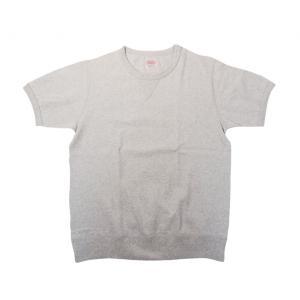ヘルスニット マックスウェイト 半袖 スウェット Tシャツ オートミール メンズ レディース 前V HEALTHKNIT 7557 MAX WEIGHT SWEAT TYPE S/S T-SHIRT OATMEAL|americanrushstore