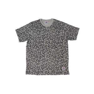 VISION STREET WEAR / ヴィジョン SKULL MULTIPRINT Tシャツ GRAY グレー|americanrushstore