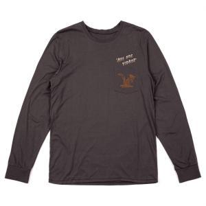 ブリクストン 長袖 Tシャツ ロンT ウォッシュド ブラック プレミアムフィット BRIXTON BURRO L/S PREMIUM TEE WASHED BLACK|americanrushstore
