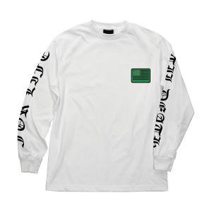 クリーチャー 長袖 Tシャツ ホワイト ロンT メンズ スケート CREATURE UNITED WE LURK  REGULAR L/S T-SHIRT WHITE americanrushstore