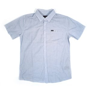BRIXTON / ブリクストン HOWL S/S WOVEN SHIRT 半袖シャツ LIGHT BLUE STRIPE ライトブルー ストライプ|americanrushstore
