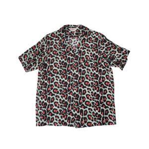 STAR OF HOLLYWOOD / スターオブハリウッド SH36158 JAGUAR オープンカラーシャツ 東洋エンタープライズ 141 MINT ミント 送料無料|americanrushstore