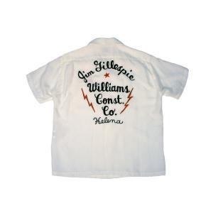 STYLE EYES / スタイルアイズ SE36166 W/CHAIN EMB'D BOWLING SHIRT ボーリングシャツ 東洋エンタープライズ 105 OFF WHITE オフホワイト 送料無料 americanrushstore