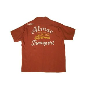 STYLE EYES / スタイルアイズ SE36167 ALMAC TRANSPORT BOWLING SHIRT ボーリングシャツ 東洋エンタープライズ 138 BROWN ブラウン 送料無料 americanrushstore