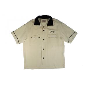 スタイルアイズ SE37213 レーヨン ボーリングシャツ オフホワイト 東洋エンタープライズ STYLE EYES