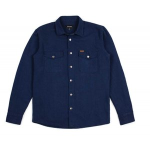BRIXTON / ブリクストン NEVADA L/S SHIRT JACKET シャツ ジャケット NAVY ネイビー 送料無料!!|americanrushstore