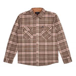 BRIXTON / ブリクストン WELDON L/S FLANNEL SHIRT ネルシャツ LIGHT BROWN ライトブラウン 送料無料 americanrushstore