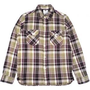 リー フランネルシャツ ワークシャツ 長袖シャツ ネルシャツ グリーン LEE LT0565-149 FLANNEL SHIRT CHECK GREEN|americanrushstore