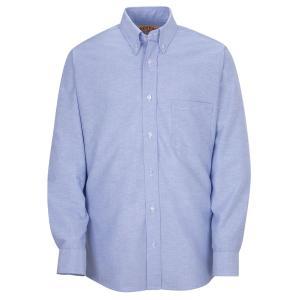 RED KAP / レッドキャップ SR70 OXFORD DRESS SHIRT B.D オックスフォード ドレスシャツ ボタンダウン LIGHT BLUE ライトブルー|americanrushstore