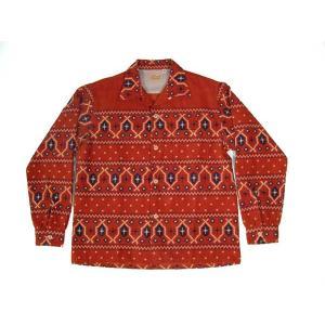 STYLE EYES / スタイルアイズ SE26407 CORDUROY SPORTS SHIRT コーデュロイシャツ オープンカラー 東洋エンタープライズ 165 RED レッド 送料無料 americanrushstore