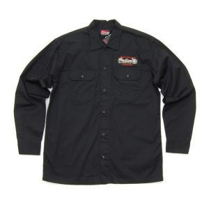 INDIAN MOTORCYCLE / インディアンモーターサイクル TWILL WORK SHIRT ワークシャツ|americanrushstore