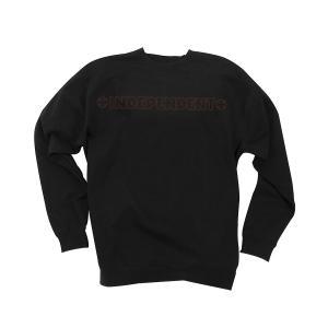 INDEPENDENT / インデペンデント BAR/STITCH CREW NECK L/S SWEAT クルー スウェット トレーナー BLACK ブラック americanrushstore