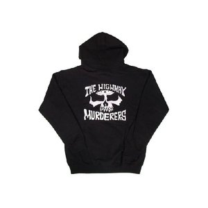 DRIVEN / ドリヴン THE HIGHWAY MURDERERS フルジップパーカー BLACK/WHITE|americanrushstore