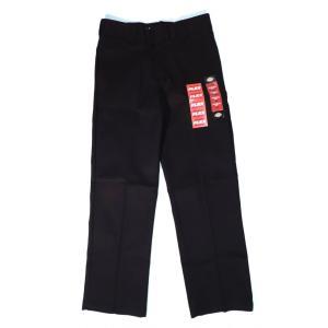 ディッキーズ 874 フレックス ワークパンツ ブラック 黒 ストレッチ メンズ レディース DICKIES 874 FLEX WORK PANTS ORIGINAL FIT BLACK|americanrushstore