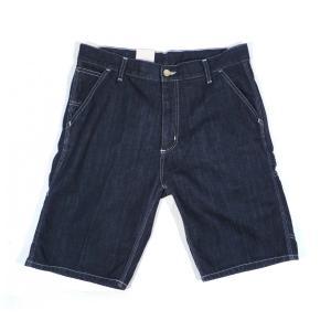 CARHARTT WIP / カーハート RUCK SINGLE KNEE SHORT PANT ぺインター ショートパンツ ショーツ  BLUE(RINSED) ブルー デニム ワンウォッシュ|americanrushstore