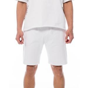 ルーカ メンズ レディース スウェット ショーツ ホワイト セットアップ ボトムス ショート ハーフパンツ RVCA SWEAT SHORTS WHITE AJ041-613|americanrushstore