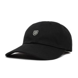 ブリクストン 6パネルキャップ ブラック ローキャップ ダッドキャップ 帽子 メンズ レディース BRIXTON B-SHIELDII CAP BLACK americanrushstore