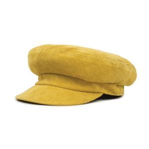 ブリクストン フィドラーキャップ コーデュロイ イエロー レディース メンズ ユニセックス 帽子 フィッシャーマンキャップ BRIXTON FIDDLER W CAP YELLOW|americanrushstore