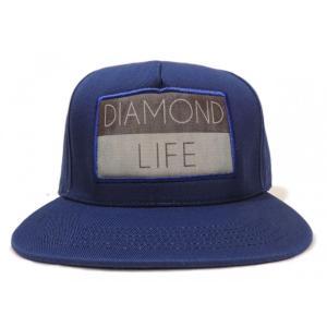 DIAMOND SUPLY CO. / ダイアモンド サプライ DIAMOND LIFE FLAG SNAPBACK CAP スナップバック キャップ ROYAL ロイヤル americanrushstore