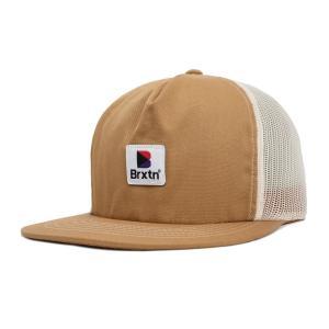 ブリクストン ストーウェル HPメッシュキャップ 帽子 キャップ スナップバック ウォッシュドコッパー BRIXTON STOWELL HP MESH CAP WASHED COPPER americanrushstore