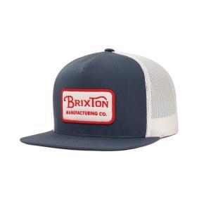 BRIXTON / ブリクストン GRADE MESH CAP メッシュキャップ WASHED NAVY ウォッシュドネイビー|americanrushstore