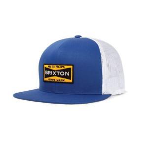 BRIXTON / ブリクストン FUEL MESH CAP メッシュキャップ ROYAL/WHITE ロイヤル/ホワイト|americanrushstore