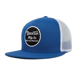 ブリクストン ウィーラー メッシュキャップ ロイヤル ホワイト 帽子 BRIXTON WHEELER MASH CAP ROYAL/WHITE|americanrushstore