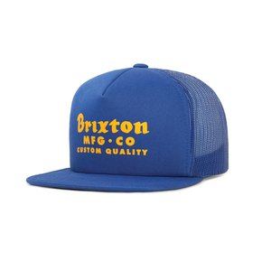 BRIXTON / ブリクストン SADLER MESH CAP メッシュキャップ ROYAL ロイヤル|americanrushstore