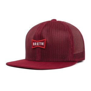 ブリクストン ミズーリ メッシュキャップ 帽子 キャップ スナップバック バーガンディー BRIXTON MISSOURI MESH CAP BURGUNDY|americanrushstore