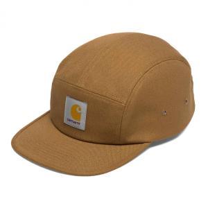 カーハート メンズ バックレー キャップ 5パネル ジェットキャップ ハミルトン ブラウン 帽子 CARHARTT BACKLEY CAP HAMLITON BROWN I016607|americanrushstore
