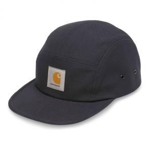 カーハート メンズ バックレー キャップ 5パネル ジェットキャップ キャンプキャップ ダーク ネイビー 帽子 CARHARTT BACKLEY CAP DARK NAVY I016607|americanrushstore