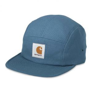 カーハート メンズ バックレー キャップ ブルー 5パネル ジェット キャンプ キャップ 帽子 CARHARTT BACKLEY CAP PRUSSIAN BLUE I016607|americanrushstore