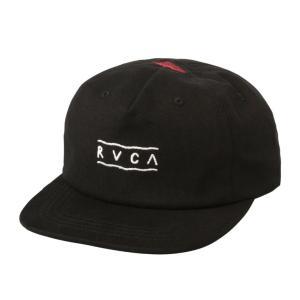 ルーカ メンズ トム・ジェラード スナップバック キャップ ブラック サーフ スケート RVCA TOM GERRARD SNAPBACK CAP BLACK AJ041-904|americanrushstore