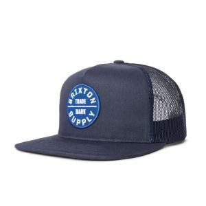 ブリクストン メンズ レディース メッシュ キャップ ネイビー/ロイヤル スナップバック 帽子 BRIXTON OATH III MESH CAP NAVY/ROYAL|americanrushstore