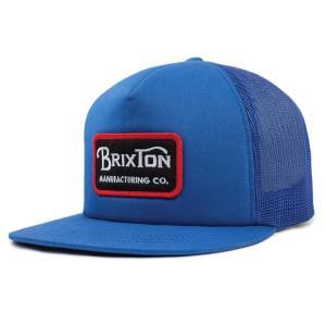 ブリクストン メッシュキャップ 帽子 キャップ ロイヤル スナップバック BRIXTON GRADE MESH CAP ROYAL|americanrushstore