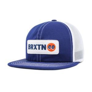 ブリクストン メッシュキャップ ダークロイヤル 帽子 BRIXTON BALDWIN MESH CAP DARK ROYAL|americanrushstore