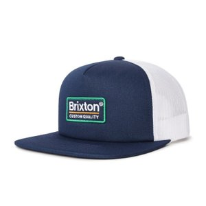 ブリクストン メンズ レディース メッシュ キャップ ブルー ネイビー スナップバック 帽子 BRIXTON PALMER MESH CAP PATRIOT BLUE|americanrushstore