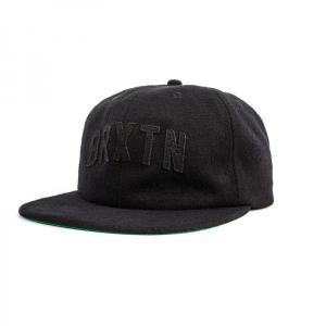 BRIXTON / ブリクストン HAMILTON CAP ウールキャップ BLACK / BLACK ブラック|americanrushstore