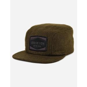 BRIXTON / ブリクストン MILL ウールキャップ OLIVE WOOL|americanrushstore