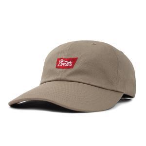 ブリクストン ステイス LP キャップ ローキャップ 帽子 カーキ レッド BRIXTON STITH LP CAP KHAKI/RED americanrushstore