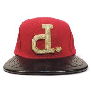 DIAMOND SUPLY CO. / ダイアモンド サプライ BEN BALLER UN-POLO SNAPBACK CAP スナップバック キャップ RED/BLACK/GOLD americanrushstore