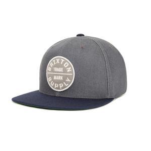 BRIXTON / ブリクストン OATH III SNAPBACK CAP スナップバックキャップ ベースボールキャップ 帽子 キャップ LIGHT BLUE / DARK NAVY|americanrushstore