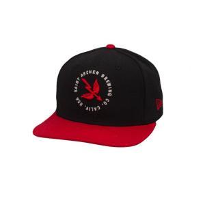 SAINT ARCHER / セイントアーチャー NEW ERA ニューエラ WINGS AND ARROW SNAPBACK CAP スナップバック キャップ BLACK/RED ブラック/レッド|americanrushstore