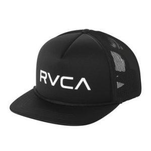 ルーカ ロゴ メッシュ キャップ ブラック スナップバック トラッカーキャップ サーフ スケート RVCA FOAMY TRUCKER HAT BLACK AJ041-927|americanrushstore