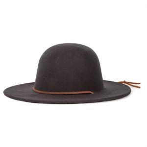 BRIXTON / ブリクストン TILLER HAT ウールハット つば広ハット BLACK ブラック 送料無料|americanrushstore