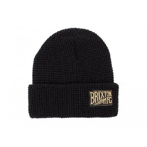 BRIXTON / ブリクストン COVENTRY BEANIE KNIT CAP ニットキャップ ビーニー BLACK ブラック|americanrushstore