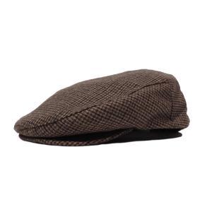 ブリクストン フーリガン ハンチング キャップ ブラウン 茶色 ハット ツイード メンズ 帽子 BRIXTON HOOLIGAN HUNTING HAT BROWN|americanrushstore