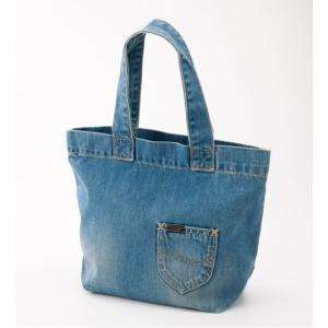 リー ランチトート 中色ブルー トートバッグ LEE LUNCHTOTE TOTEBAG BLUE LA0151-246|americanrushstore