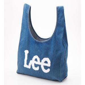 リー ロゴ エコバッグ トートバッグ 濃色ブルー LEE LOGO ECO BAG TOTE BAG BLUE LA0191-126 americanrushstore
